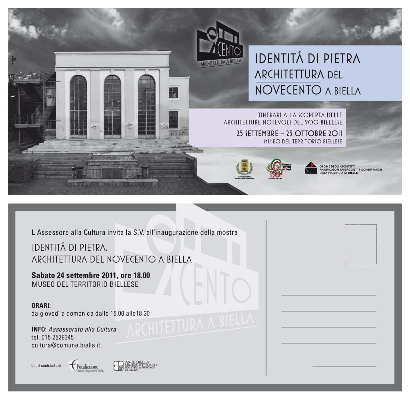 Awn Mostra Identità Di Pietra Architettura Del 900 A Biella