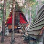 Villaggio Eni di Corte di Cadore, 1954-63, campeggio dei ragazzi; Foto: Paolo Biadene, Brunico
